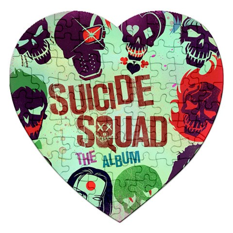 Panic! At The Disco Suicide Squad The Album Jigsaw Puzzle (Heart)