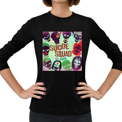 Panic! At The Disco Suicide Squad The Album Women s Long Sleeve Dark T-Shirts