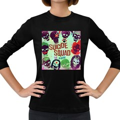 Panic! At The Disco Suicide Squad The Album Women s Long Sleeve Dark T Shirts