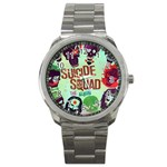 Panic! At The Disco Suicide Squad The Album Sport Metal Watch Front