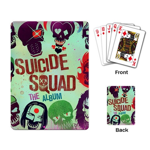 Panic! At The Disco Suicide Squad The Album Playing Card