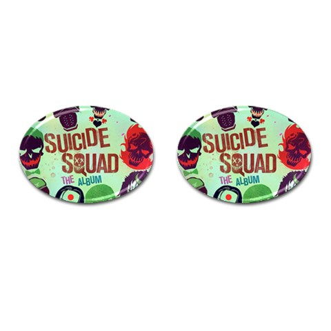 Panic! At The Disco Suicide Squad The Album Cufflinks (Oval)