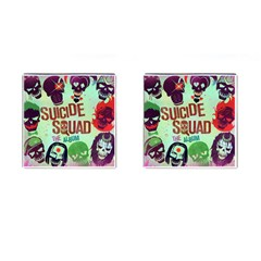 Panic! At The Disco Suicide Squad The Album Cufflinks (square)