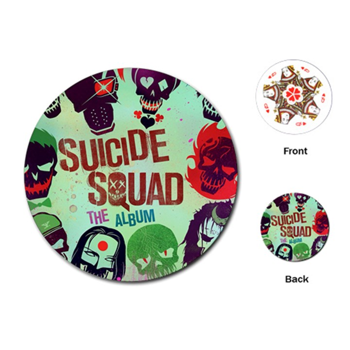 Panic! At The Disco Suicide Squad The Album Playing Cards (Round)