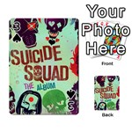 Panic! At The Disco Suicide Squad The Album Playing Cards 54 Designs  Front - Spade3