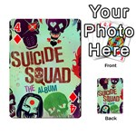 Panic! At The Disco Suicide Squad The Album Playing Cards 54 Designs  Front - Diamond4