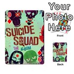 Panic! At The Disco Suicide Squad The Album Playing Cards 54 Designs  Front - Diamond9