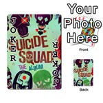 Panic! At The Disco Suicide Squad The Album Playing Cards 54 Designs  Front - Joker1