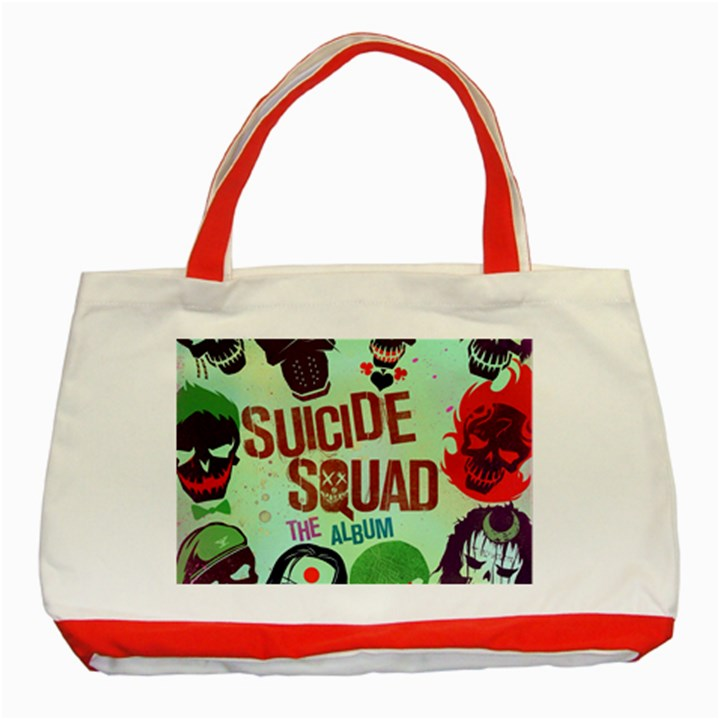 Panic! At The Disco Suicide Squad The Album Classic Tote Bag (Red)
