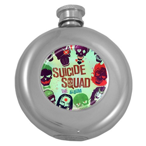 Panic! At The Disco Suicide Squad The Album Round Hip Flask (5 oz)