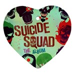 Panic! At The Disco Suicide Squad The Album Heart Ornament (2 Sides) Front