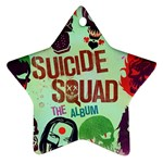 Panic! At The Disco Suicide Squad The Album Star Ornament (Two Sides)  Back