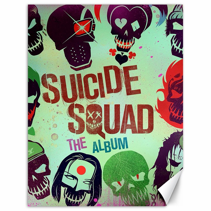Panic! At The Disco Suicide Squad The Album Canvas 12  x 16