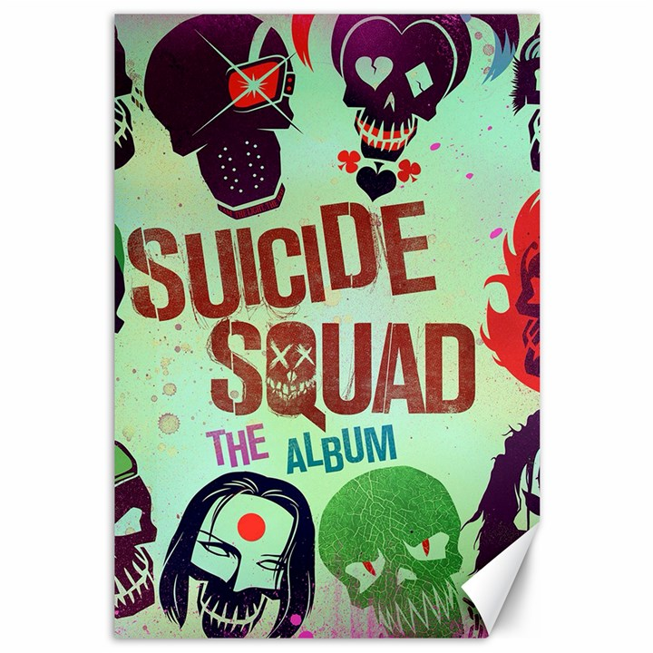 Panic! At The Disco Suicide Squad The Album Canvas 12  x 18