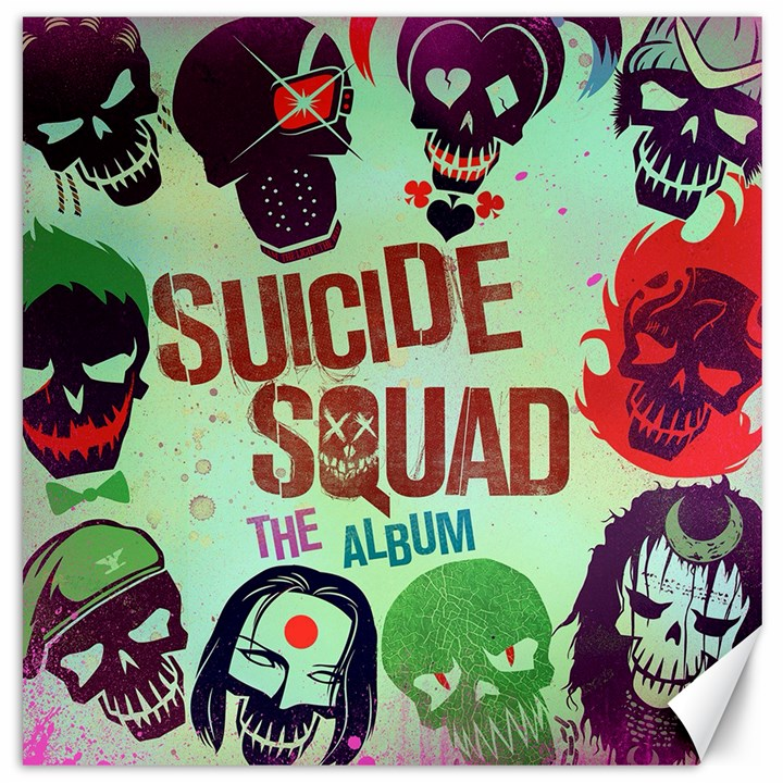 Panic! At The Disco Suicide Squad The Album Canvas 16  x 16
