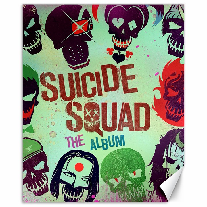 Panic! At The Disco Suicide Squad The Album Canvas 16  x 20