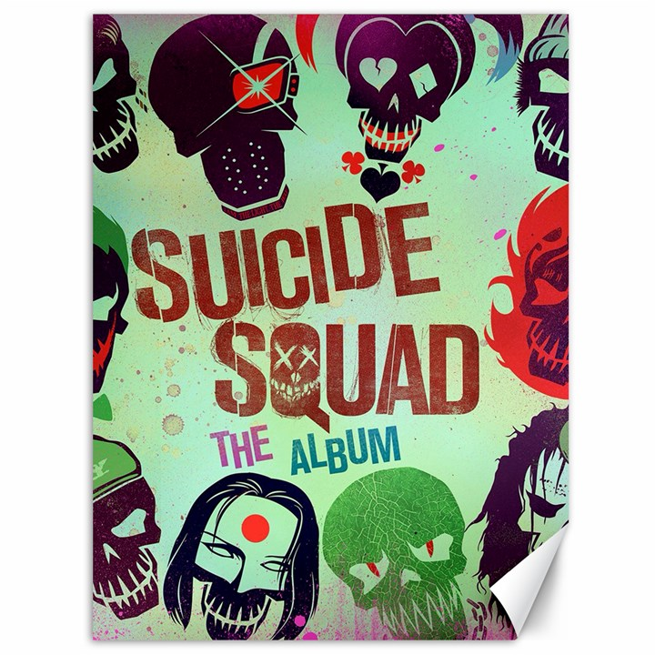 Panic! At The Disco Suicide Squad The Album Canvas 36  x 48