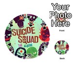 Panic! At The Disco Suicide Squad The Album Playing Cards 54 (Round)  Front - SpadeK