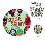 Panic! At The Disco Suicide Squad The Album Playing Cards 54 (Round)  Front - Heart4