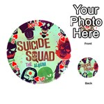 Panic! At The Disco Suicide Squad The Album Playing Cards 54 (Round)  Front - Heart5