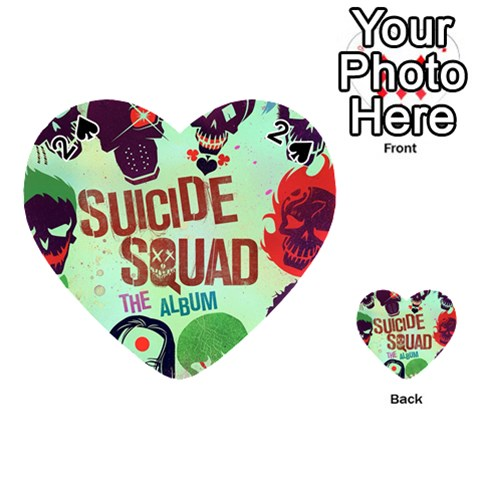 Panic! At The Disco Suicide Squad The Album Playing Cards 54 (Heart)