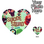 Panic! At The Disco Suicide Squad The Album Playing Cards 54 (Heart)  Front - Joker2