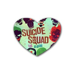 Panic! At The Disco Suicide Squad The Album Rubber Coaster (Heart)