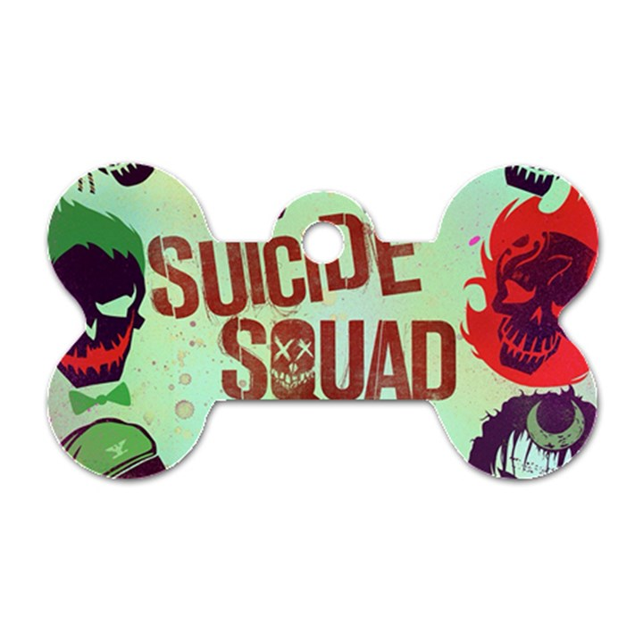 Panic! At The Disco Suicide Squad The Album Dog Tag Bone (One Side)