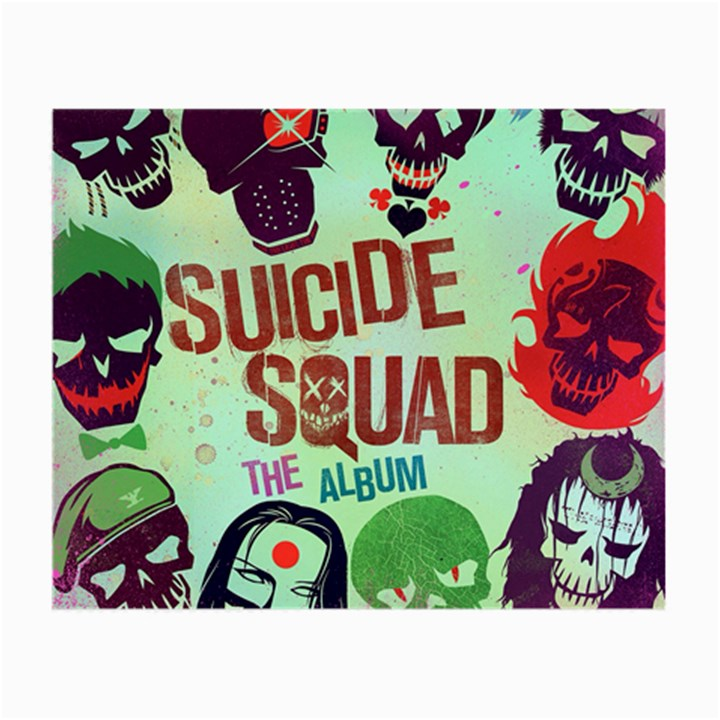 Panic! At The Disco Suicide Squad The Album Small Glasses Cloth (2-Side)
