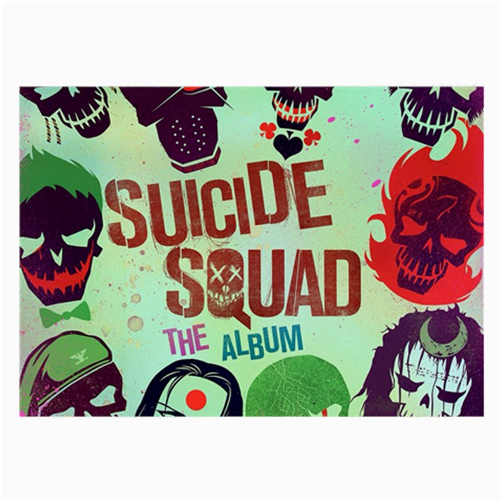 Panic! At The Disco Suicide Squad The Album Large Glasses Cloth
