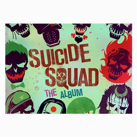 Panic! At The Disco Suicide Squad The Album Large Glasses Cloth (2-Side)