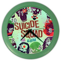 Panic! At The Disco Suicide Squad The Album Color Wall Clocks