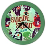 Panic! At The Disco Suicide Squad The Album Color Wall Clocks Front