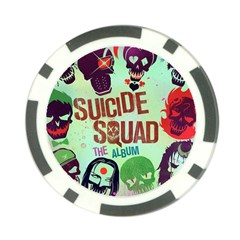Panic! At The Disco Suicide Squad The Album Poker Chip Card Guards