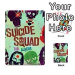 Panic! At The Disco Suicide Squad The Album Multi-purpose Cards (Rectangle)  Back 8