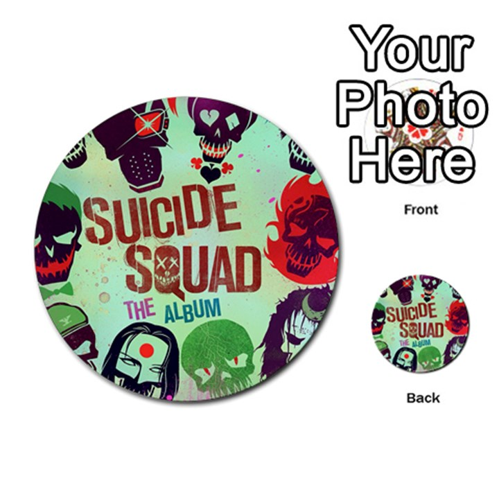 Panic! At The Disco Suicide Squad The Album Multi-purpose Cards (Round)