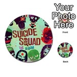 Panic! At The Disco Suicide Squad The Album Multi-purpose Cards (Round)  Back 17