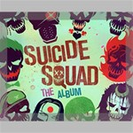 Panic! At The Disco Suicide Squad The Album Canvas 14  x 11  14  x 11  x 0.875  Stretched Canvas