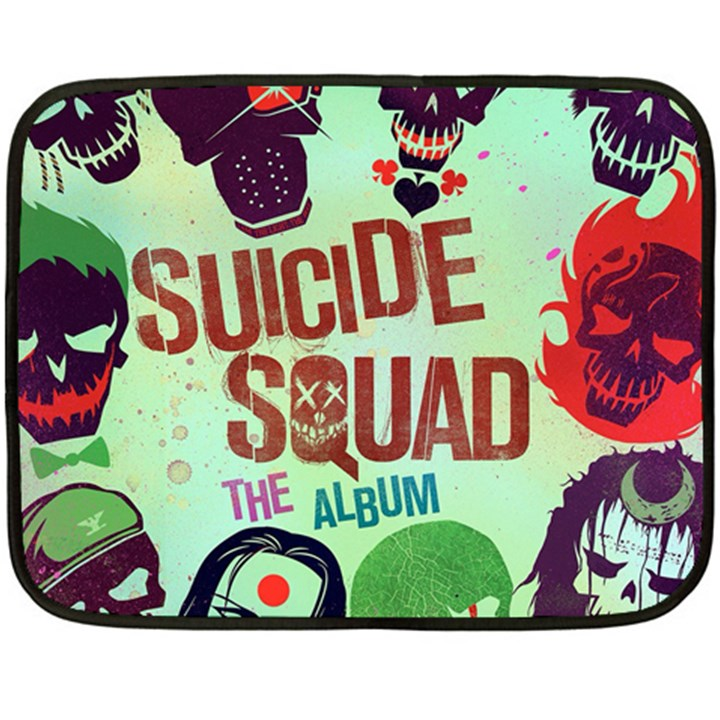 Panic! At The Disco Suicide Squad The Album Double Sided Fleece Blanket (Mini)