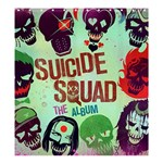 Panic! At The Disco Suicide Squad The Album Shower Curtain 66  x 72  (Large)  58.75 x64.8 Curtain