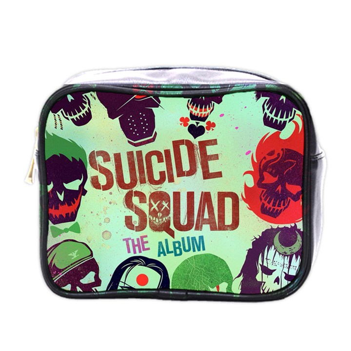 Panic! At The Disco Suicide Squad The Album Mini Toiletries Bags