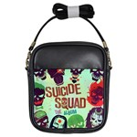Panic! At The Disco Suicide Squad The Album Girls Sling Bags Front