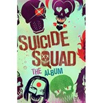 Panic! At The Disco Suicide Squad The Album 5.5  x 8.5  Notebooks Back Cover