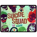 Panic! At The Disco Suicide Squad The Album Fleece Blanket (Large)  80 x60 Blanket Front