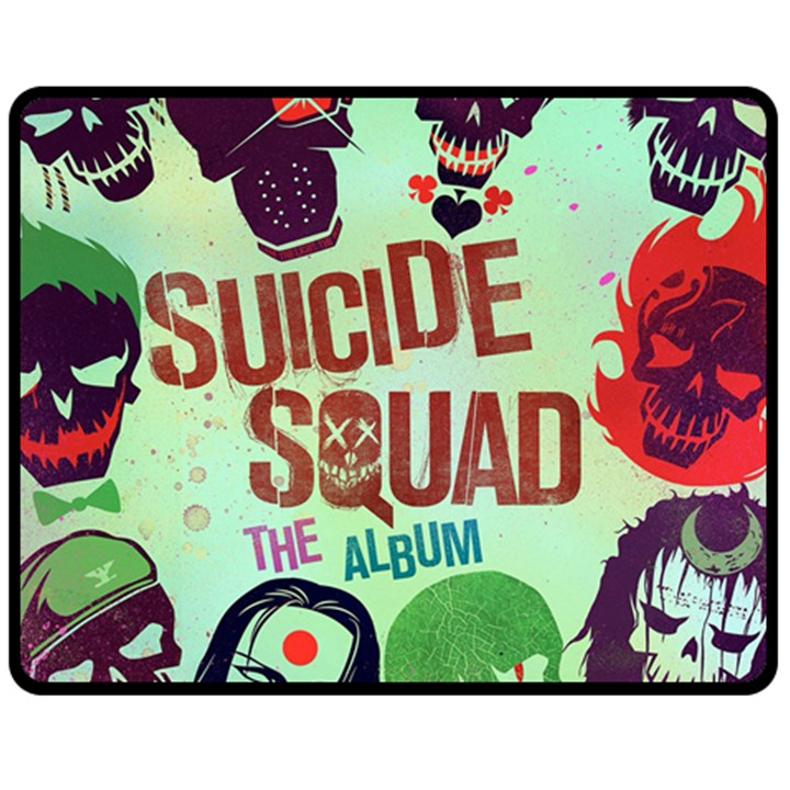 Panic! At The Disco Suicide Squad The Album Fleece Blanket (Medium)