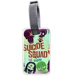 Panic! At The Disco Suicide Squad The Album Luggage Tags (Two Sides) Back