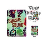 Panic! At The Disco Suicide Squad The Album Playing Cards 54 (Mini)  Front - Spade4