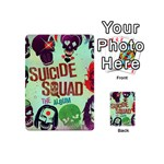 Panic! At The Disco Suicide Squad The Album Playing Cards 54 (Mini)  Back