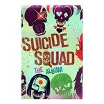Panic! At The Disco Suicide Squad The Album Shower Curtain 48  x 72  (Small)  42.18 x64.8 Curtain