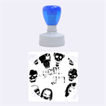 Panic! At The Disco Suicide Squad The Album Rubber Round Stamps (Medium) 1.5 x1.5  Stamp